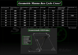 Mauna Kea Cyclo Cross Disc Web